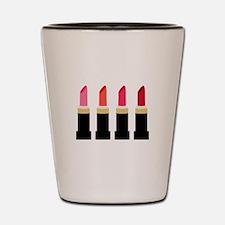 Lipstick Border Shot Glass