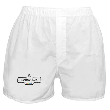 Colfax Ave. Boxer Shorts