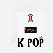 Unique Kpop Greeting Card