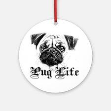 Funny Obama dog Round Ornament