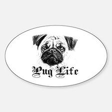 Unique Dog ban Sticker (Oval)