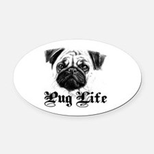 Funny Assault life Oval Car Magnet
