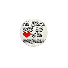 my hearts in Seychelles Mini Button