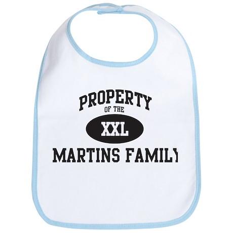 Property of Martins Family Bib