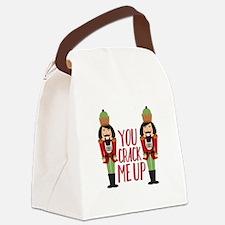 Crack Me Up Canvas Lunch Bag