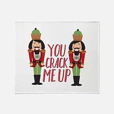 Crack Me Up Throw Blanket
