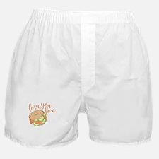 Love You Lox Boxer Shorts