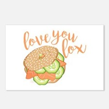 Love You Lox Postcards (Package of 8)
