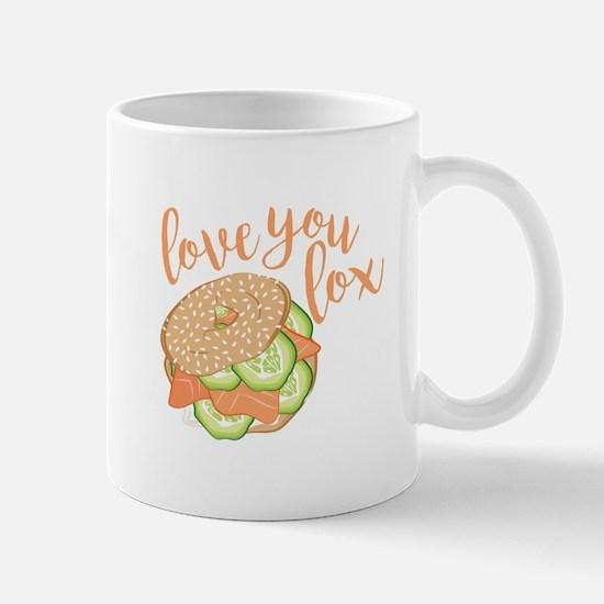 Love You Lox Mugs