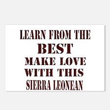 Learn best from Sierra Leone Postcards (Package o