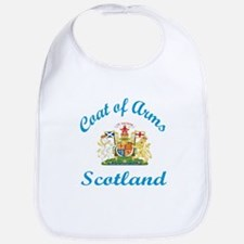 Coat of Arms Scotland Bib
