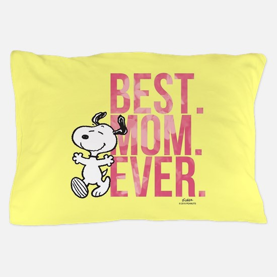 Snoopy -Best Mom Ever Full Bleed Pillow Case