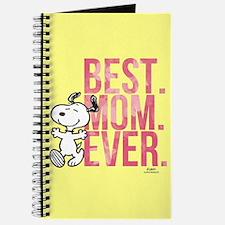Snoopy -Best Mom Ever Full Bleed Journal