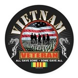 Daughters of vietnam veterans Round Car Magnets