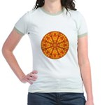 MANDALA ART Jr. Ringer T-Shirt