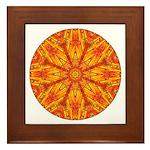 MANDALA ART Framed Tile