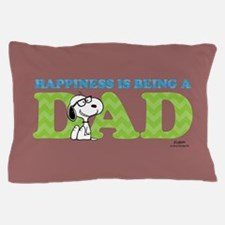 Snoopy - Hapiness is Dad Full Bleed Pillow Case