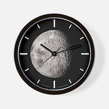 Earth's Moon Wall Clock