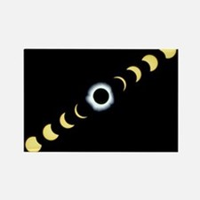 otal solar eclipse - Rectangle Magnet (100 pk) Mag