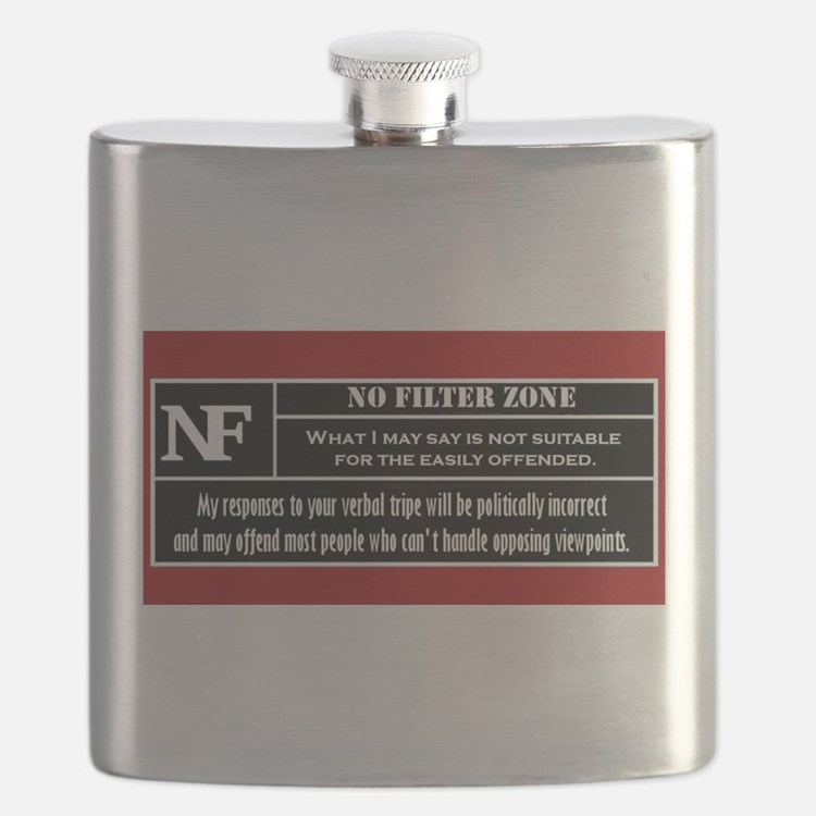 No Filter Zone Flask