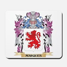 Marques Coat of Arms - Family Crest Mousepad