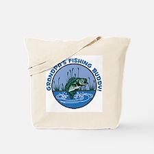 GRANDPA'S FISHING BUDDY! Tote Bag