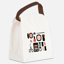 Variety Of Makeup Canvas Lunch Bag