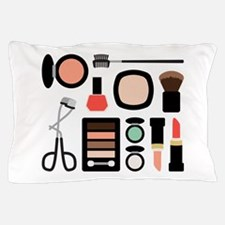 Variety Of Makeup Pillow Case