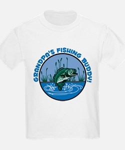 GRANDPA'S FISHING BUDDY! T-Shirt