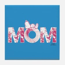 Snoopy - Mom Full Bleed Tile Coaster