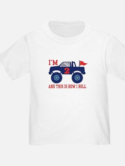 2nd Birthday Monster Truck T