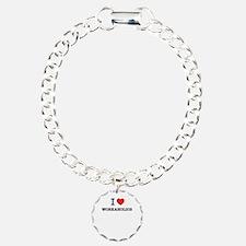 I Love WORKAHOLICS Bracelet