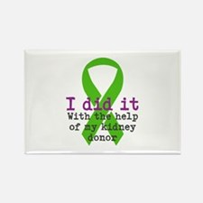 I Did It Rectangle Magnet (10 pack)