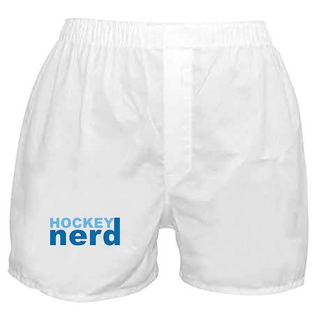 Hockey Nerd Boxer Shorts