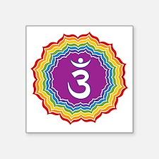 "Jainism Square Sticker 3"" x 3"""