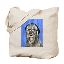 IRISH WOLFHOUND Portrait Desi Tote Bag