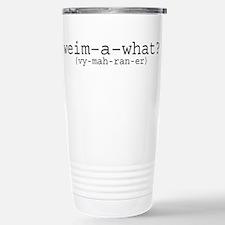 Unique Ghost Travel Mug