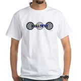 Darts Mens White T-shirts