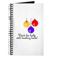 BowlingChick Deck the Halls Journal