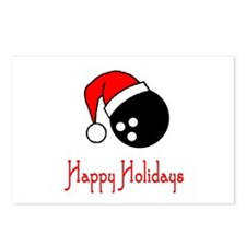 BowlingChick Happy Holidays Postcards (Package of