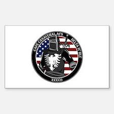 NROL-37 Program Logo Sticker (Rectangle)