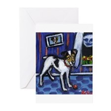 JACK sees moon Design Greeting Cards (Pk of 10
