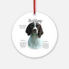 Brittany (Liver) Ornament (Round)