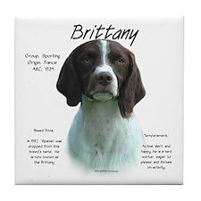 Brittany (Liver) Tile Coaster