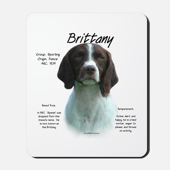 Brittany (liver) Mousepad