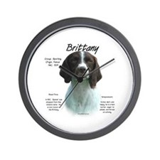 Brittany (Liver) Wall Clock