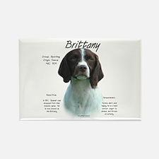 Brittany (Liver) Rectangle Magnet (100 pack)