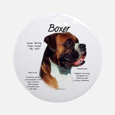 Boxer (natural) Ornament (Round)