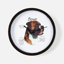 Boxer (natural) Wall Clock