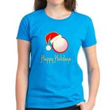 GolfChick Happy Holidays Tee